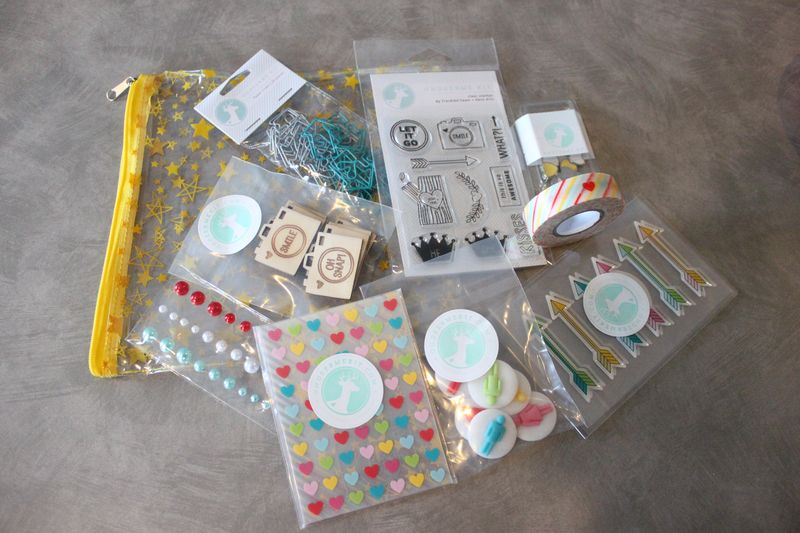 OHDEERME February Embellishment Kit