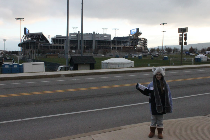 05 - Beaver Stadium at dawn - 15NOV14